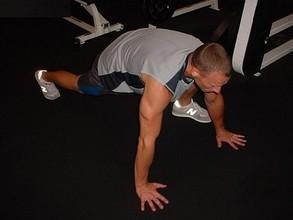 La escalada de montaña, ejercicio inicial para el abdomen